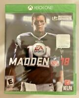 Madden NFL 18: Microsoft Xbox One Brand New Sealed Tom Brady Cover Football NWT
