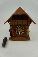 Vintage German Regula E. Schmeckenbecher village cuckoo clock - Untested