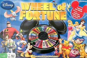 Disney Wheel of Fortune Game Replacement Pieces and Parts - You Pick Pressman 08