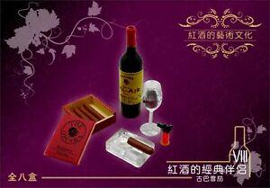 ORCARA WORLDWIDE VINTAGE WINE CULTURE MINIATURE Re-ment size RARE No.08