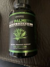 Havasu Extra Strength Saw PalmettoProstateHealth Supplement 100Capsules Exp 1/22