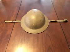 Vintage Post War Dutch Helmet With Liner Great Condition