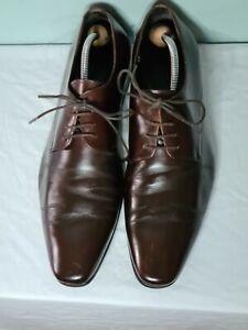 John White Mens formal brogue shoes. Brown size 10.5