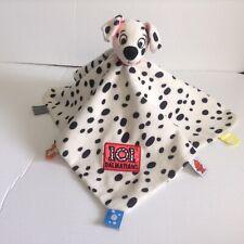 Disney Baby 101 Dalmatians Security Blanket Lovey Tags Satin Plush