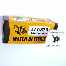 5 x JCB 377 376 Silver Oxide SR626W 1.55V Watch Battery SG4