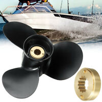 Aluminum Marine Outboard Propeller 10 1/2 x 13  For Mercury 25-70HP 48-816704A40
