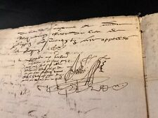 RENAISSANCE ERA CONTRACT 1560    8 pages