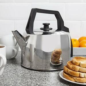 Swan Large SWK235 Catering Kettle 3.5 Litre Stainless Steel 2200W