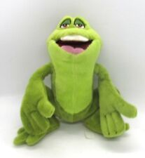The Princess And The Frog NAVEEN Green Plush Frog Stuffed from The Disney Store