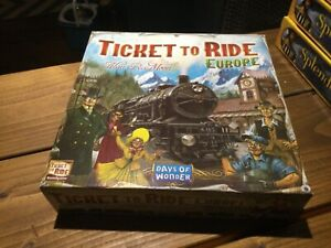 Days Of Wonder Ticket To Ride Europe Board Game - Lockdown F