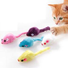 2PCS Kitten Car Playing Toys False Mouse in Rat For Pet Cat Funny Gift Random
