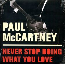 PAUL McCARTNEY  NEVER STOP DOING WHAT YOU LOVE  U/S FIDELITY 15 TRACK  PROMO