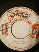 "Augustus Pablo ‎– Pablo In Red - 7"" Vinyl Single"