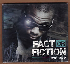 """RAW FACTS cd """"Fact Or Fiction"""" 2012 Face Facts NEW Sealed 16 Tracks RAP Digipak"""