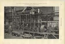 1921 Beardmore Tosi Marine Diesel Engine Photograph