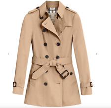 Burberry Prorsum Women's Heritage trench coat honey UK6 Generous Kensington fit