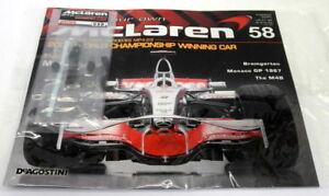 Kyosho Kits 1/8 scale Diecast 058 McLaren MP4-23 F1 Magazine subscription part