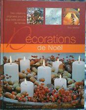Livre de Décorations de Noël, idées créatives 250 pages couverture rigide