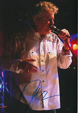"Dan McCafferty ""Nazareth"" signed 8x12 inch photo autograph"