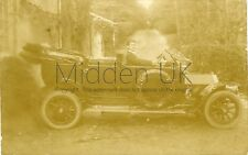 RA771 Early RP POSTCARD 1911 Bedford Buick Landaulette Vintage Car	- Posted 1913