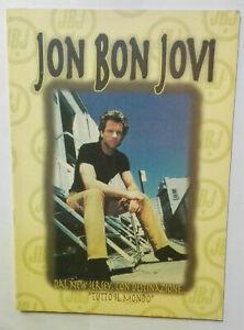 JON BON JOVI, DAL NEW JERSEY CON DESTINAZIONE TUTTO IL MONDO, ed. LO VECCHIO