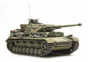 HO Roco Minitank 6th Panzer Army Panzer IV Tank #A976.387.320 Hand Painted
