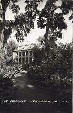 Shadows on the Teche NEW IBERIA Louisiana USA 1930-50 L.L. Cook Co. RPPC F-15