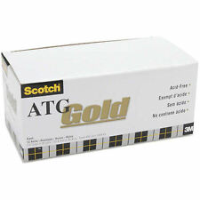 New listing Scotch Atg Gold Transfer Tape Roll 908 1/2 in x 36 yards - 12 rolls - New!