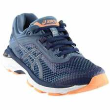 ASICS GT-2000 6  Casual Running Stability Shoes Navy Womens - Size 5 2E