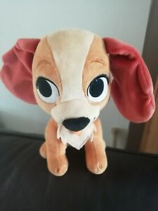 """Disney Lady from Lady and the Tramp Plush Soft Cute Toy 9""""  Gd/Con"""