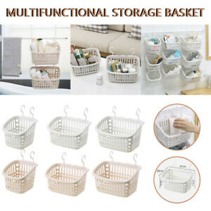 Multi-layer Plastic Hanging Shower Basket Bathroom Caddy Basket Organizer Racks