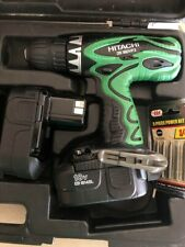 """Hitachi DS18DVF3 18V 1/2"""" Driver Drill Kit with Flashlight Tested And Guaranteed"""