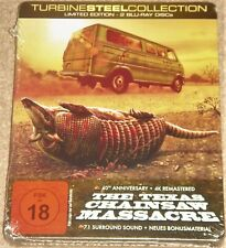 The Texas Chainsaw Massacre 40th Anniversary Edition Metalpak /Import/Blu Ray