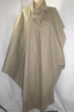 Vintage SHAMASK Art to Wear Nylon Trench Coat  One Size Fits Most