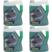 20Liter MANNOL Antifreeze Kühlmittel (- 40°C) Kühlerfrostschutz Typ G13 grün