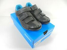 Shimano RP-2W SPD-SL Road Shoe - Size EUR 39 - Black/Blue - US 7.2