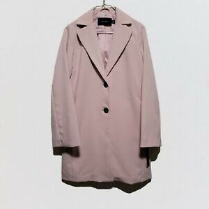 Tahari womens pink 2 button blazer XSmall $200 retail new with tags
