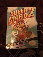 Super Mario Bros. 2 - Nintendo NES - Complete CIB - FAST + FREE SHIPPING!