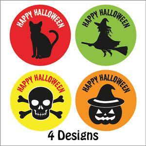 144 x Halloween Stickers