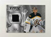 2019-20 UD Artifacts Lord Stanley's Legacy Relic #LSLR-TR Tuukka Rask