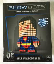 Superman DC Glowbots by Goliath - NIB - Glow Bots Illuminated LED