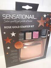 Sensationail All Stars Rose Gold GEL Polish Starter Kit