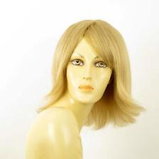 perruque femme 100% cheveux naturel longue blonde ref CORALIE  22