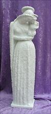 Vecchia GRANDE PORCELLANA Madonna Rosenthal Daniel Hauenstein altezza 71 cm
