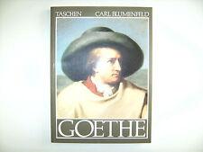 Verlag Benedikt Taschen Carl Blumenfeld Goethe Eine Bildbiographie Buch