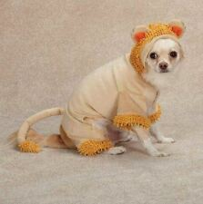 Jungle King Lion Dog Halloween Costume XS-XL Pet Casual Canine