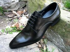 New Men's real leather Dress Shoes Casual Formal shoes lace up Black Size 6~11