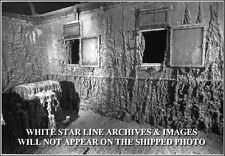Photo RMS Titanic Wreck Site: Inside The Officer's Quarters 12,000 Feet Down