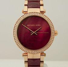 Michael Kors Women's MK6412 Parker Rose Tone Stainless Steel 39 mm Watch