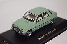 Renault Siete 7TL 1975 grün Ixo neu & OVP CLC122